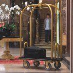 Carucioare transport bagaje pentru hotel