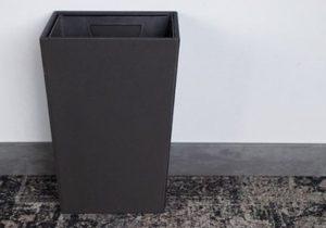 Cos de gunoi patrat cu pereti dubli pentru baie hotel sau pensiune